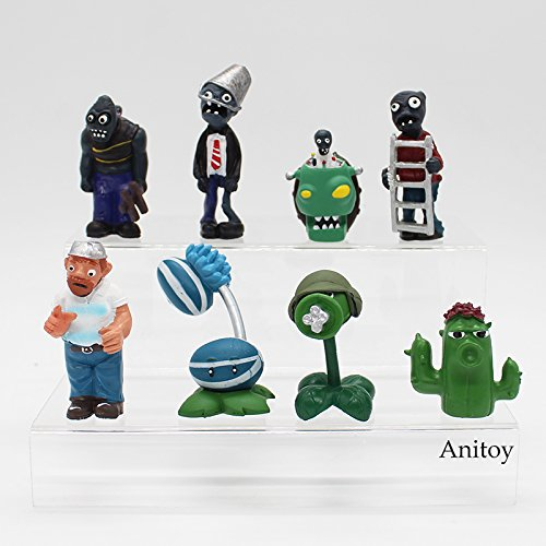 Amazon.com: Plants vs Zombies PVC Action Figures 2.5-6.5cm PVZ 40pcs/set Collection Figures Toys Gifts plant + zombies KT3968: Toys & Games
