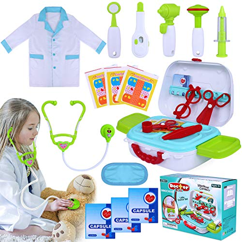 Doctor Love Costumes - INNOCHEER Kids Doctor Kit 20 Pieces