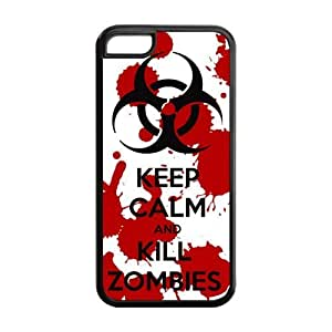 Keep Calm And Kill Zombies iPhone 5c Covers Best Custom Case at NewOne
