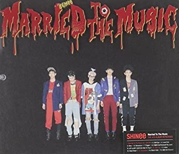 SHINEE - [ MARRIED TO THE MUSIC ] Vol 4 Repackage Album CD + Photobook +  Photocard Sealed K-POP