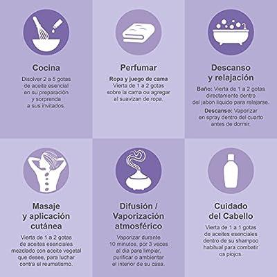 Aceite Esencial de Lavanda Puro 30 ml, 100% Natural y Bio ...