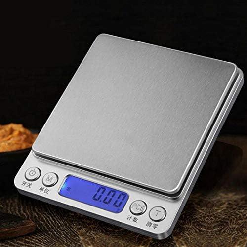 GJZ Bilancia Digitale Portatile per bilance Bilancia da Cucina Bilancia Elettronica di precisione Bilancia Elettronica Senza Batteria
