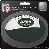 Rawlings NFL New York Jets Kids Quick Toss Softee Football, Green, Small