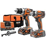 Factory-Reconditioned Ridgid ZRR9600 X4 Hyper 18V Cordless Lithium-Ion 1/2 in. Drill Driver and Impact Driver Combo Kit by Ridgid
