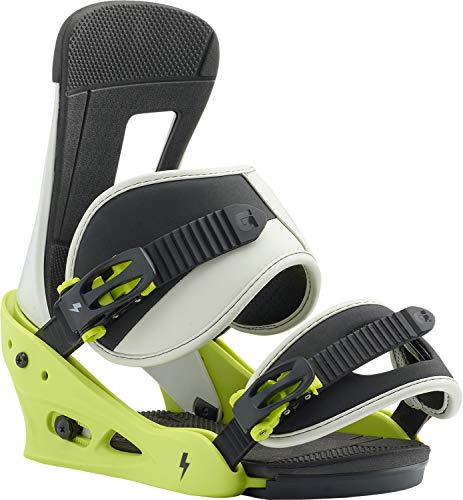 Burton Freestyle Snowboard Bindings MTN Dude Green Sz L (10+) - Mens Snowboard Binding