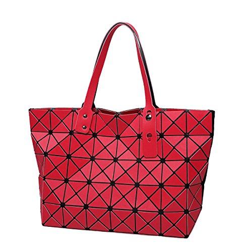 Sac pour géométrique motif rouge femme bandoulière à géométrique avec OqtOfwr