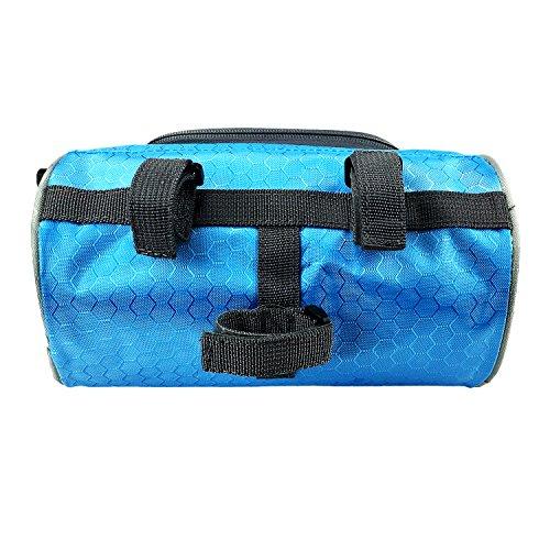 Lafedy Handlebar Bag Phone Holder bike phone bag for Map Waterproof Bike Cycling Front Basket Pannier Bag With Removable Shoulder Strap