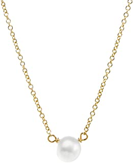 "product image for Dogeared Pearls of Love Freshwater Cultured Gold Filled 16"" with 2"" Extender Boxed Necklace"