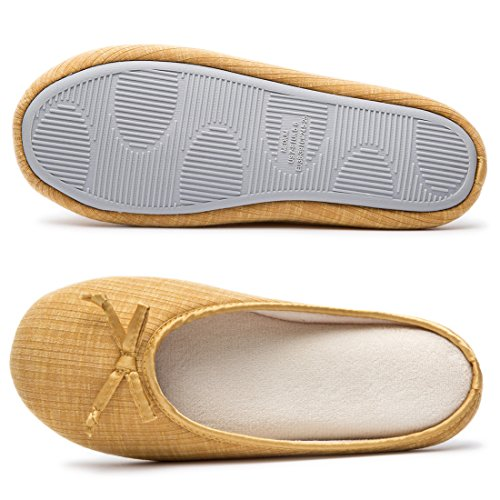 Pour Cozy Femme Niche Jaune Chaussons Onx4qaAwg