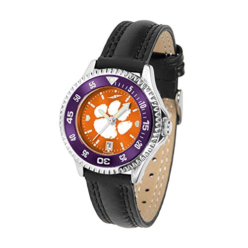 Watch Ladies Tigers Clemson (Clemson Tigers Competitor AnoChrome Women's Watch - Color Bezel)