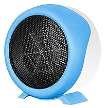Heater, Household Hand Warmer Portable Office Heater Fan Heater Energy-saving Desktop Heater Electric Heater Winter Student Classroom Heater (Color : Blue)