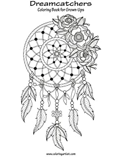 Dreamcatchers Coloring Book For Grown Ups 1 Volume