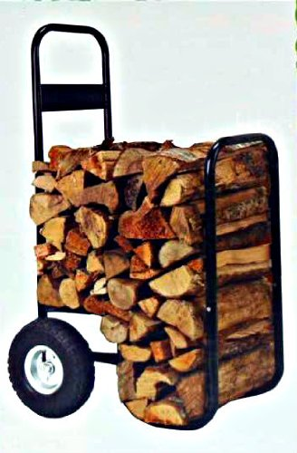 Nantucket Brand Firewood Hand Truck Caddy - With Cover - ...