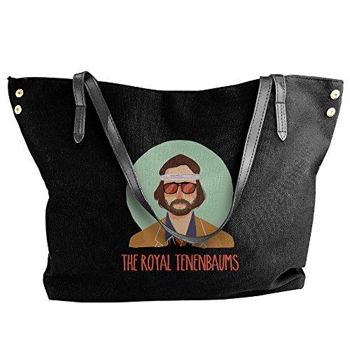 The Royal Tenenbaums Canvas Shoulder Bag Large Tote Bags Women Shopping Handbags