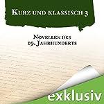Novellen des 19. Jahrhunderts (Kurz und klassisch 3) | Heinrich von Kleist,Gottfried Keller,Jeremias Gotthelf,Hugo von Hofmannsthal