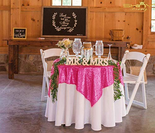 Buy glitter pink tablecloth