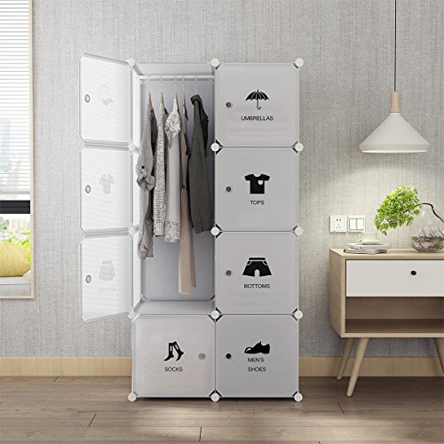 Tespo-Portable-Wardrobe-Closet-for-Bedroom-Combination-Armoire-Modular-Cabinet-Ideal-Space-Saving-Storage-Organizer-Cubes-Sturdy-Construction-White