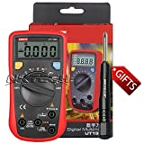 NKTECH TL-1 Screwdriver UNI-T UT136B Auto Range Digital Multimeter AC DC Voltage Current Capacitance Frequency Resistance Tester Meter Kit Probes Two-component