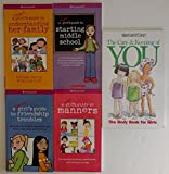 img - for American Girl Library Set (Smart Girl's Guide to Friendship Troubles ~ Care and Keeping of You ~ Oops! ~ Smart Girl's Guide to Starting Middle School ~) book / textbook / text book