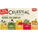Celestial Seasonings Herbal Tea Sampler with 5 Flavors 18 ea ( Pack of 3)