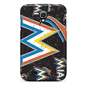 Premium Galaxy S4 Case - Protective Skin - High Quality For Miami Marlins
