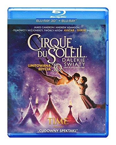 Cirque du Soleil: Worlds Away [Blu-Ray]+[Blu-Ray 3D] (English audio. English subtitles)