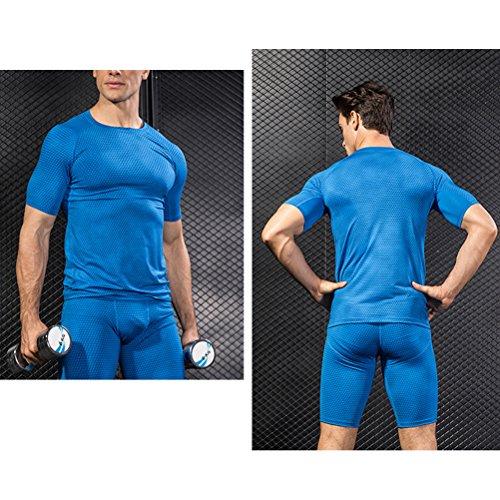 Candow Look Camisa de Animal Pattern Impresa de los Hombres Camisa