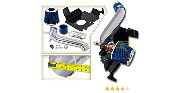 BLACK BLUE 05-10 DODGE MAGNUM//CHARGER//CHALLENGER//CHRYSLER 300 AIR INTAKE