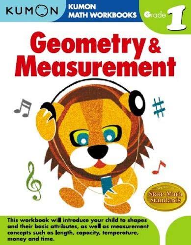 Geometry Measurement Grade 1 Kumon Math Workbooks Kumon