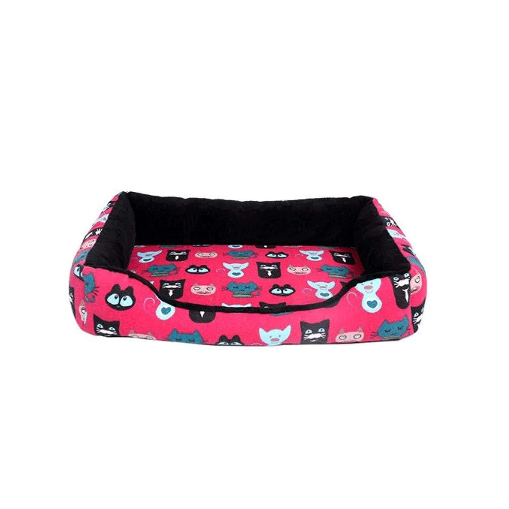 MMAWN 整形外科犬用ベッドラウンジソファ取り外し可能カバースエードマットレスメモリーフォームプレミアムエディション(複数のサイズ) (Size : 50*40cm)  50*40cm