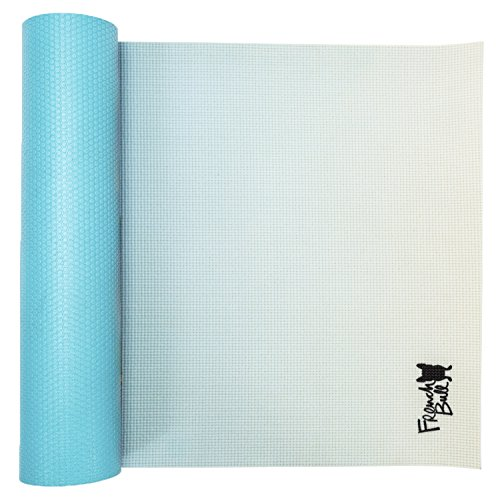 Cheap WITHit French Bull Yoga Mat – Premium Yoga Mat – 4 Color Design – Non-Slip Backing – Easy to Clean – Latex Free – Lightweight and Durable – 72″ (183cm) x 24″ (61cm), 5mm Thick (Blue Ombre)