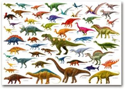 Amazon | 恐竜大全 A1ポスター | おもちゃ雑貨 | おもちゃ