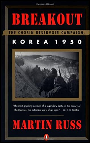 Image result for breakout the chosin reservoir campaign korea 1950