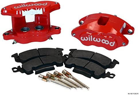 Wilwood Red D52 GM Brake Calipers & Pads