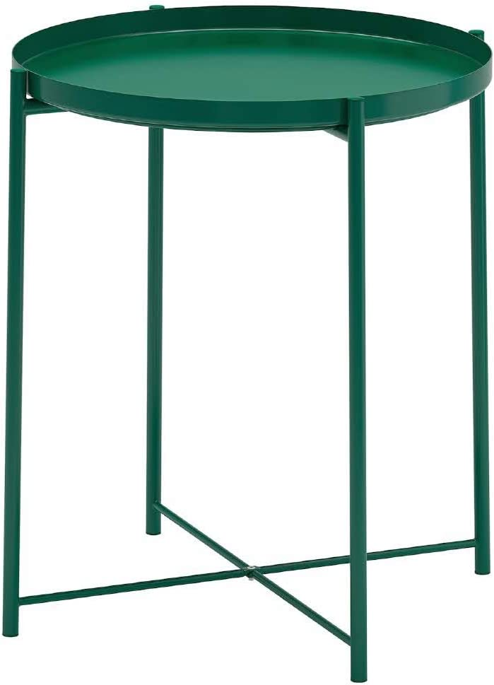 GLADOM Tray Table Green 45x53cm 1EA