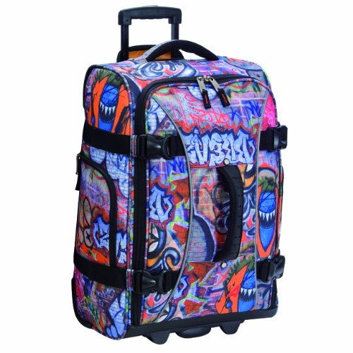 athalon-luggage-21-inch-hybrid-travelers-bag-graffiti-one-size