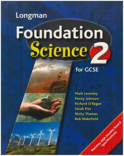 Key Stage 4 Foundation Science 2011: Student's Book 2 Bk. 2: Student's Book 2 Year 11 (FOUNDATION SCIENCE FOR GCSE) by Mark Levesley (2002-07-15)