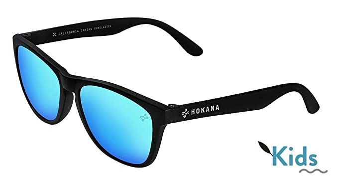 Hokana Sunglasses BLACK CHAW - CLEAR KIDS | K01: Amazon.es ...