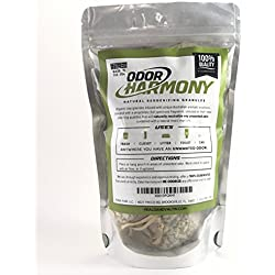 Odor Harmony - Natural Odor Eliminator for Home, Cars, Bathroom, Pets - Air Purifying Bags - Organic Clay Granules - Fresh Natural Scent to Eliminate Odors - Air Fragrance for Bad Smell (Small)