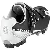 Scott MTB Pro Shoe - Men's Matte Black/Gloss White, 47.0