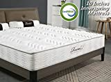 Rucas Memory Foam Mattress Innerspring Hybrid Mattress for Added Comfort Mattress, CertiPUR-US Certified Adaptive Foam, [15 Year Warranty]- Full 547510