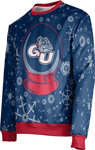 ProSphere Gonzaga University Ugly Holiday Unisex Sweater - Snow Globe FE621