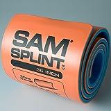 SAM Rolled Splint 36'', Orange/Blue