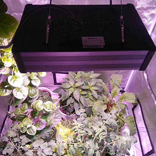 LED Grow Light - 450W COB LED Grow Lights for Indoor Plants Veg and Flower Lighting Fixture with 1200K 3000K 5000K Full Spectrum 100W Epileds COBs and High Power 5W Cree LEDs