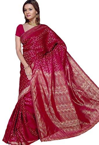 Indian Bollywood Sari Bordeaux CA101
