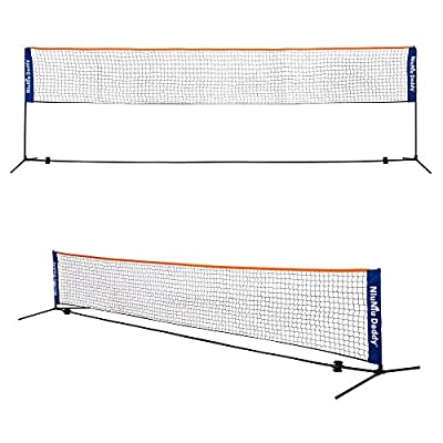 Niuniu Daddy Portable Badminton Volleyball Tennis Net Set with Stand/Frame