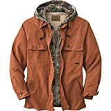 Legendary Whitetails Men's Voyager Hooded Shirt Jacket