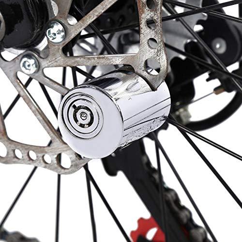 DHmart Wheel up Mini Bicycle Disc Brake Lock Motorcycle Motorbike Bike Safety Lock Anti-Theft Disc Brake Lock Cycling Accessories by DHmart (Image #5)
