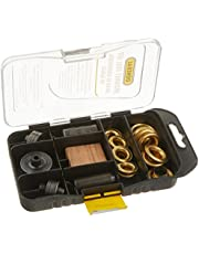 Multi Grommet Tool Kit, Solid Brass Grommets (3/8 and 1/2-Icnhes)