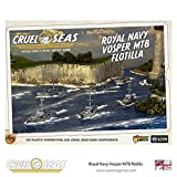 Cruel Seas British Royal Navy Vosper MTB Flotilla 1:300 WWII Naval Military Wargaming Plastic Model Kit